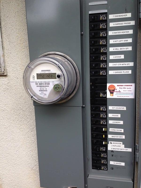 200 Amp Meter Main Panel Install