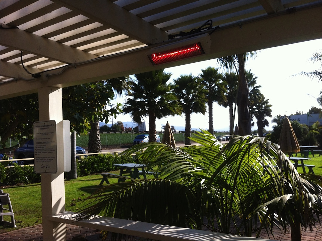 Patio Heaters Padaro Beach Grill